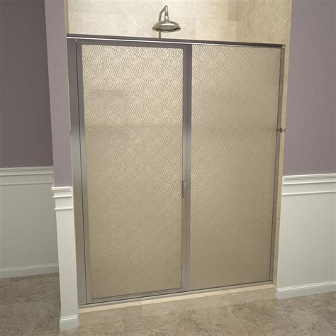 Redi Swing 1100 Series 47 In W X 68 5 8 In H Framed Obscure Shower Door