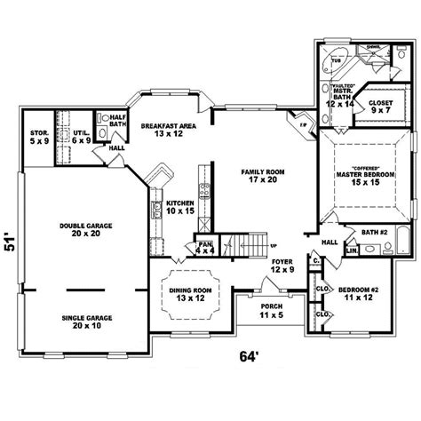 colonial home plans and floor plans edwina southern colonial home plan 087d 1594 house plans