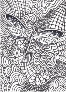 zentangle coloring book dragonfly zentangle coloring pages raising