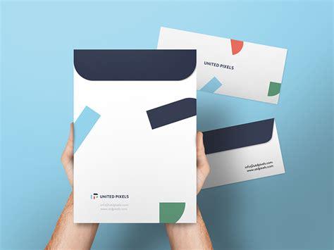 envelope  folder mockup psd  mockups
