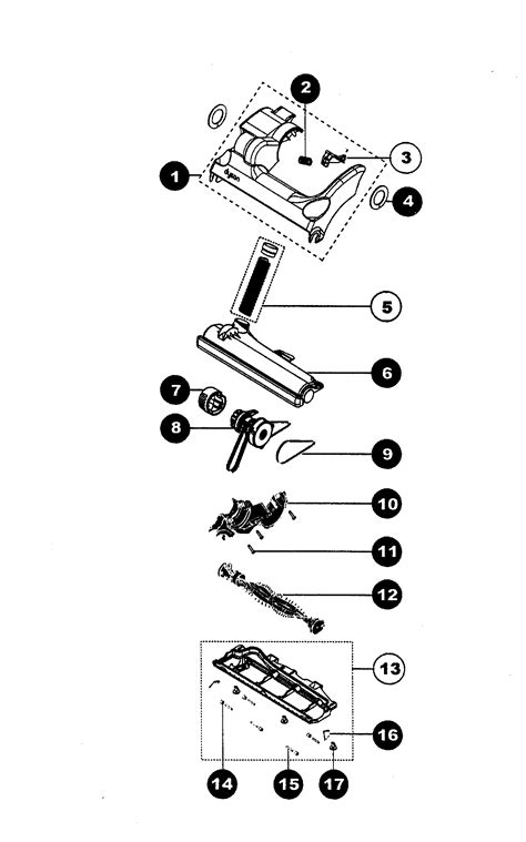 dyson dc17 animal parts diagram dyson schematic diagram get free image about wiring diagram