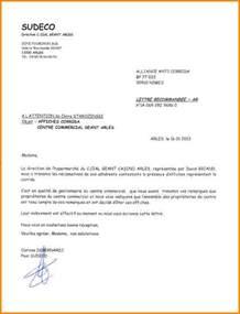 Exemple De Lettre Commerciale 6 Lettre Commerciale Espagnol Lettre De Preavis