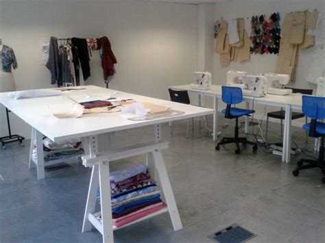 pattern making design room cutting table second city