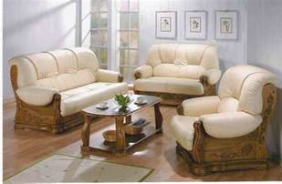 Wood And Leather Sofa Wood Leather Sofa Set Mw Furniture Source Malaysia