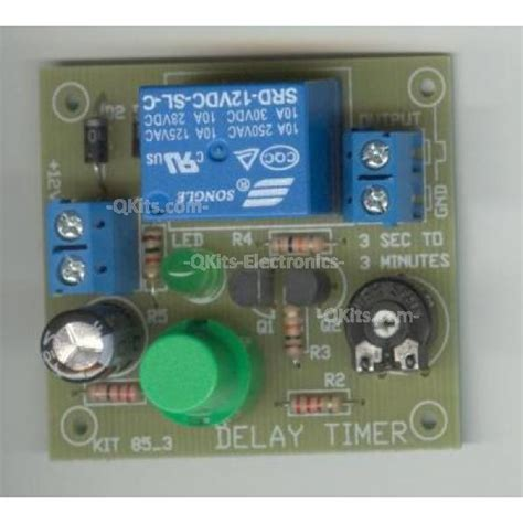 discharge capacitor on board timer kit using capacitor discharge quality electronics store kingston ontario canada
