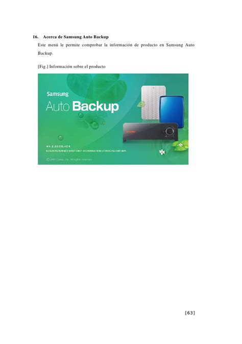 Samsung Auto Backup by Spa Samsung Auto Backup User S Manual Ver 2 0