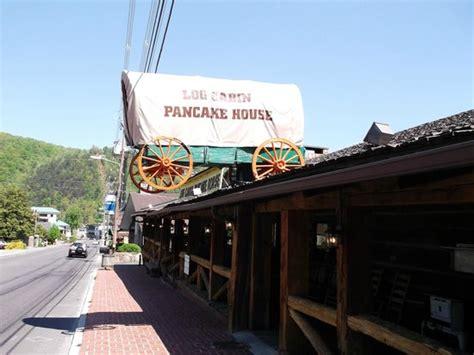 log cabin pancake house gatlinburg tn look for the old wagon