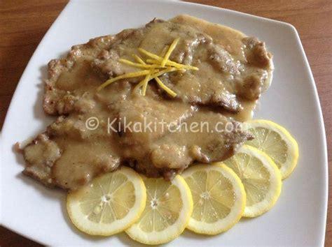 come cucinare le scaloppine al limone scaloppine al limone facili e veloci da preparare