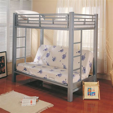 Bunks Twin Over Futon Bunk Bed Bunk Beds Futon Bunk Bed With Mattress