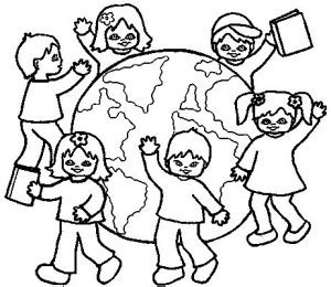 children of the world coloring crafts and worksheets for