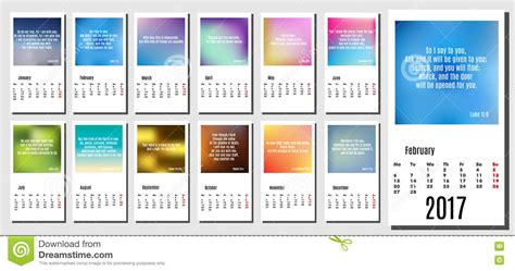 calendar design quote 2017 year calendar with subtle backgrounds bible quotes