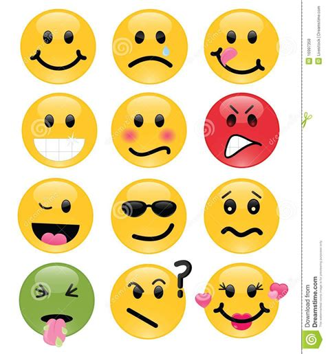 royalty free stock photo vector smiley faces botellas smilies stock vector image of frown grin embarrassed