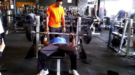 120 bench press 120 kgs bench press raw isher singh 68 kgs youtube
