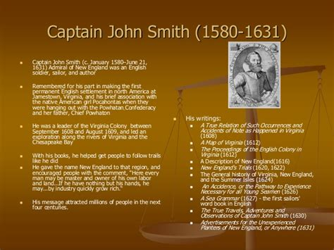 Smith Timeline by Early American Literature Pre 1800 1