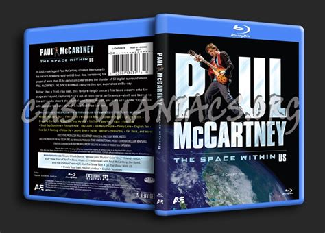 Paul Mccartney Signs His Dvd The Space Within Us And His Cd Ecce Cor Meum At The Megastore Times Square by Paul Mccartney The Space Within Us Cover Dvd