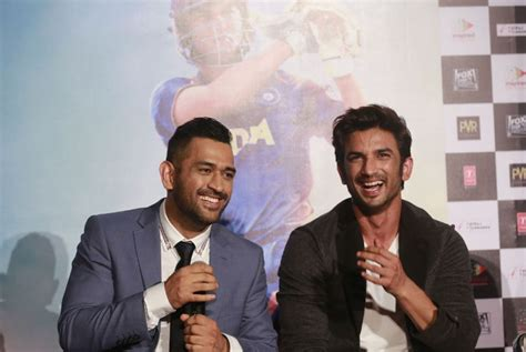 ms dhoni biography movie cast didn t want to be made into hero ms dhoni on his biopic