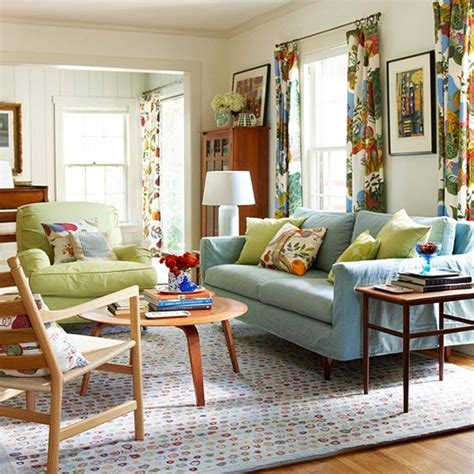 colorful decorating ideas for small living room chic and colorful spring living room ideas