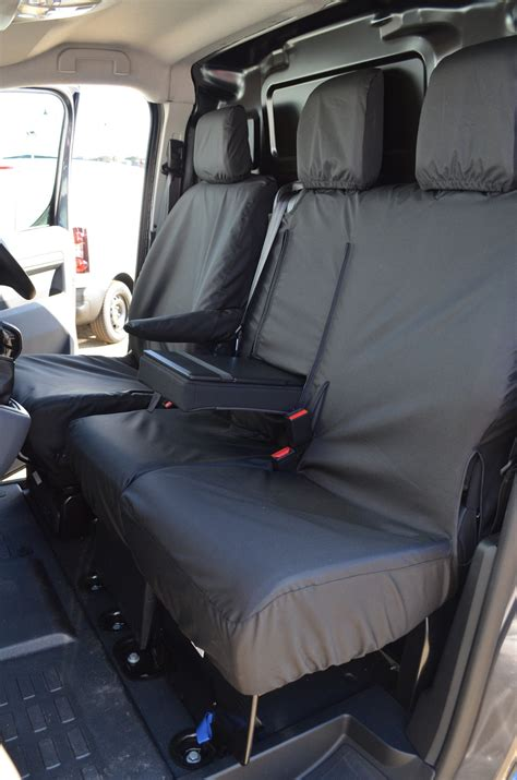 peugeot expert seats peugeot expert 2016 tailored and waterproof front seat