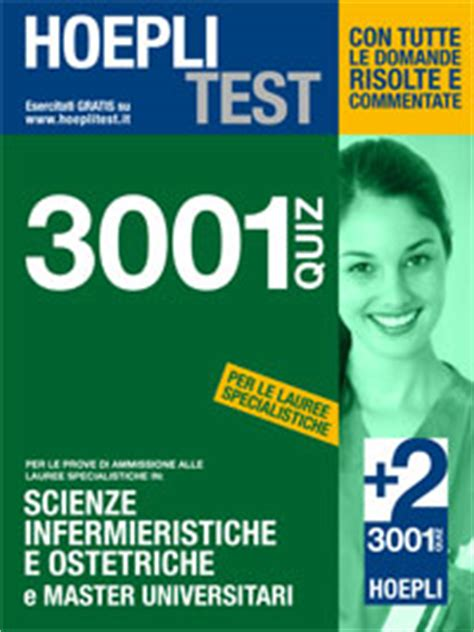 test scienze infermieristiche hoeplitest it lauree specialistiche area sanitaria