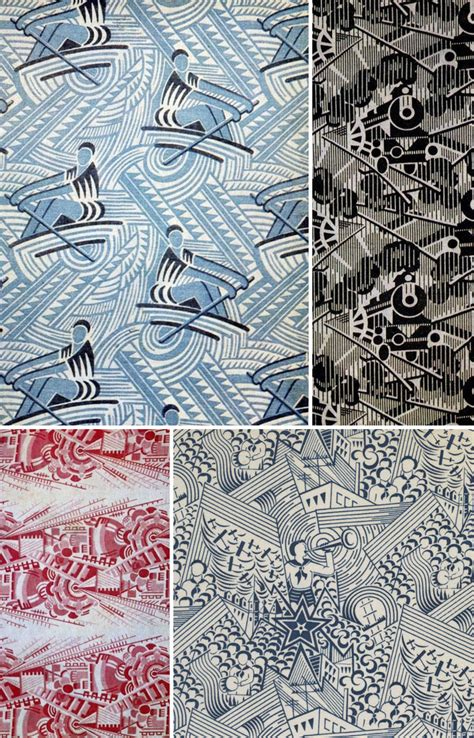 fabric pattern history russia in the 1920s and 30s pattern observer