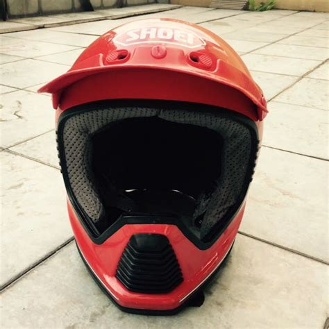Helm Shoei Retro Vintage Classic Shoei Vx 5v Mx Helmet With Visor Auto