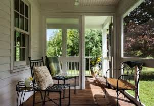 Screen porch decorating ideas porch farmhouse with patio chairs large