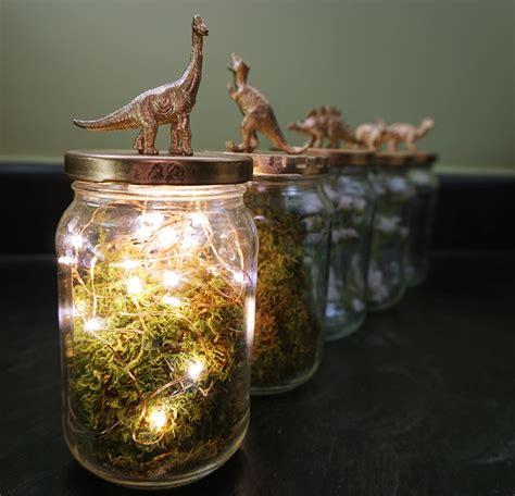 glass jar centerpieces dinosaur jar upcycling turned diy wedding centerpieces