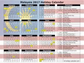 Calendar 2018 Template Malaysia Malaysia 2017 2018 Calendar