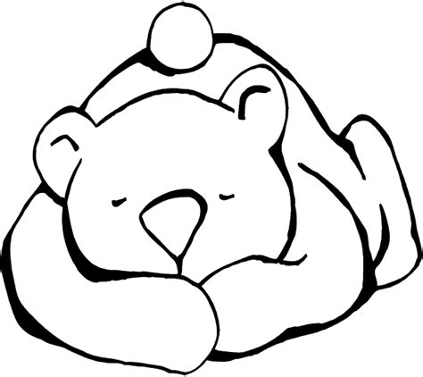 sleeping bear coloring pages to print sleeping bear coloring page