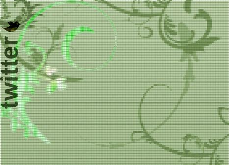 twitter layout green free abstract twitter backgrounds bijusubhash com