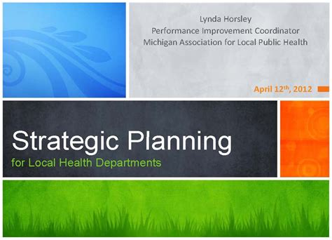 components of strategic planning process