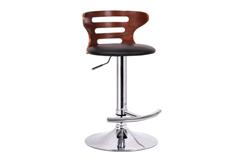 bar stools in chicago buell walnut and black modern bar stool affordable
