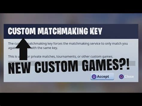 fortnite not working fortnite how to make your own custom matchmaking key not