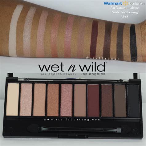 N Au Naturel 10 Pan Eyeshadow Palette 753a Bnb n