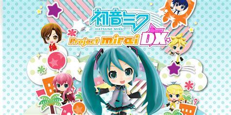 Kaset 3ds Hatsune Miku Project Mirai Dx Hatsune Miku Project Mirai Dx Nintendo 3ds Jeux Nintendo