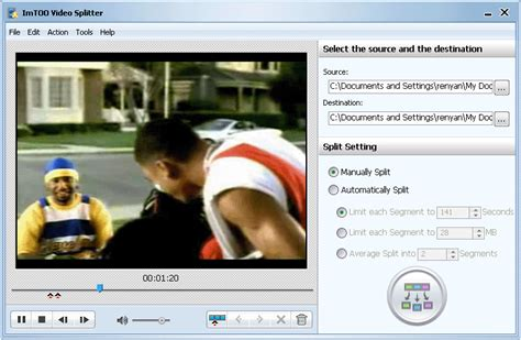 imtoo video joiner free download full version video splitter mov splitter flv splitter video split