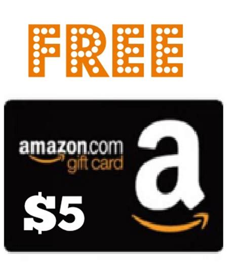 Amazon 5 Gift Card - free 5 amazon gift cards are arriving