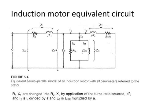 3 phase induction machine equivalent circuit elec467 power machines transformers ppt
