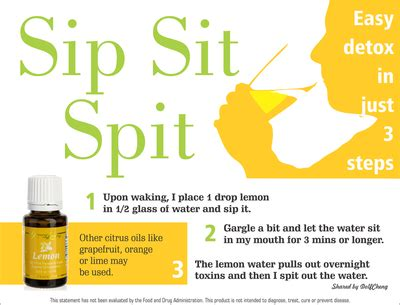 Detox Your In 8 Steps by Essential Oils Easy Detox In 3 Steps