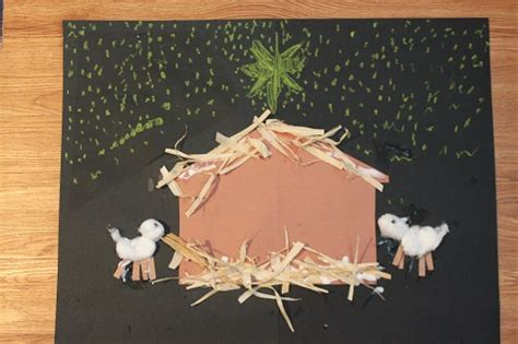 nativity craft for our crafts n things 187 bee crafty