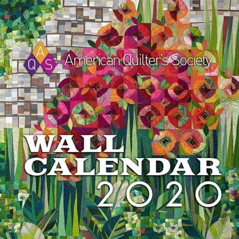 american quilters society aqs  wall calendar