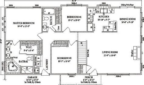Wardcraft Homes Floor Plans Open Concept Ranch Style House Plans Awesome My Dream