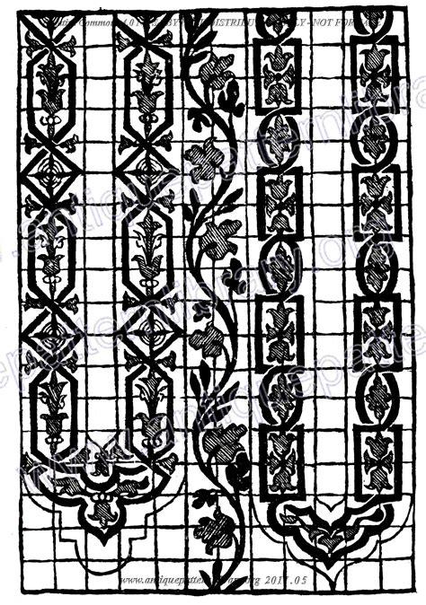 hydrogen pattern library apl h rm004 musterbuch venetianischer nadelarbeiten 1558