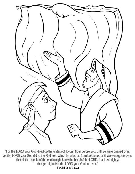 Joshua 7 Coloring Pages by Joshua And The Promised Land Coloring Page Coloring Home