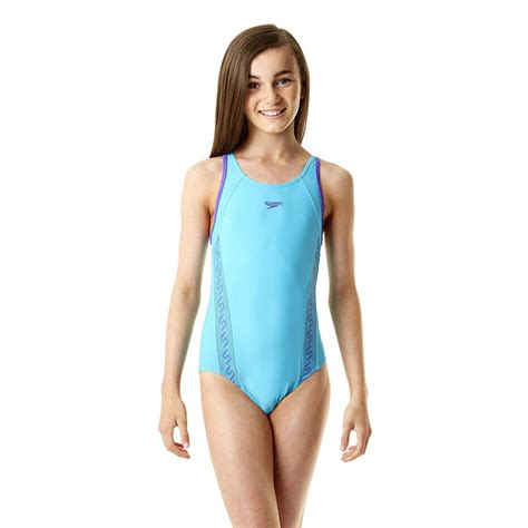 speedo girl swimsuit speedo monogram muscleback girls swimsuit ss14 sweatband com