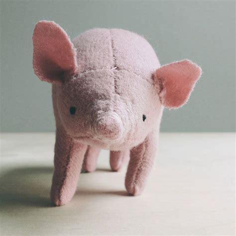 Handmade Pig - pig oh albatross handmade dolls and softies