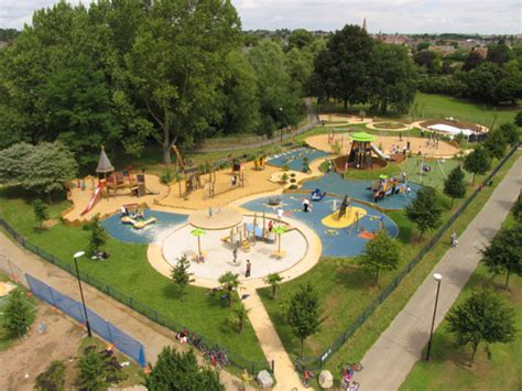 welland park market harborough playground design