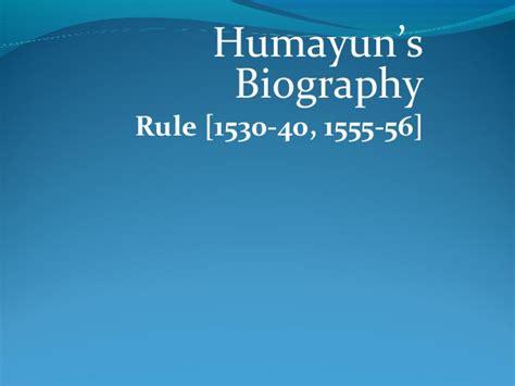 humayun biography in english humayun the mughal ruler