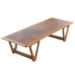 vintage coffee table vintage coffee table walnut two tone finish ebay