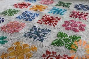 n quilt hawaiian quilt custom machine quilting by